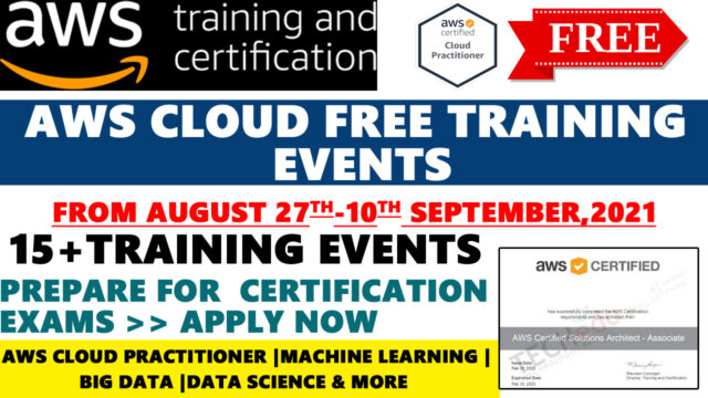 aws training and certifications
