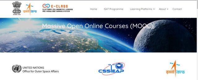 isro mooc courses